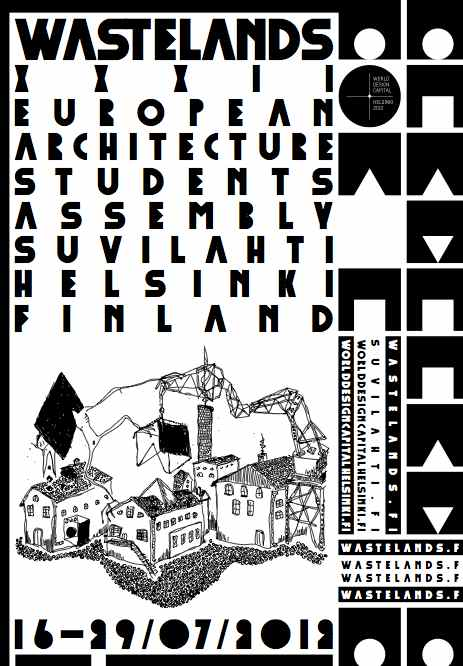 The Nordic Countries Wastelands Asambleas estudiantes arquitectura Helsinki