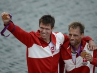 The Nordic Countries Denmark olympic champion men's double scull rowing