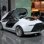 The Nordic Car Saab en Qindao Coche conceptual